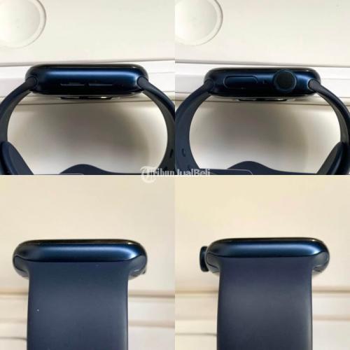 Apple Watch Series 6 40mm Blue GPS Aluminium Case Bekas Like New - Bogor