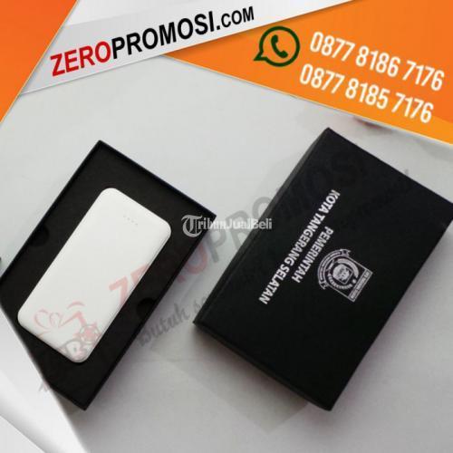 Sedia Kemasan Packaging Hardbox Besar Untuk Souvenir Powerbank Custom - Tangerang