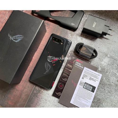 HP Asus ROG PHONE 5 8/128GB Bekas Fullset Original Mulus Like New- Kuningan
