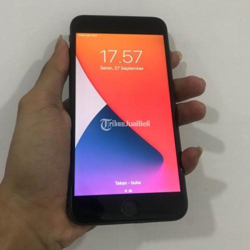 HP Iphone 8plus 256Gb Gray All Provider Original Like New Bekas Fullset - Jogja