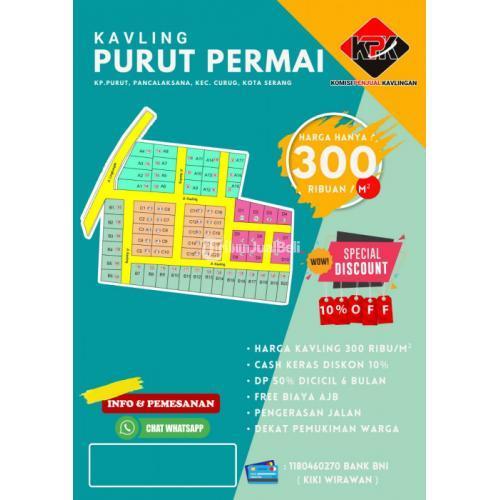 Dijual Kavling Purut Permai Siap Bangun Dekat Sport Center Banten - Serang