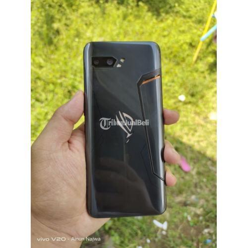 HP Asus ROG Phone 2 Bekas Fullset Ram 8/128GB  Normal Garansi - Magelang