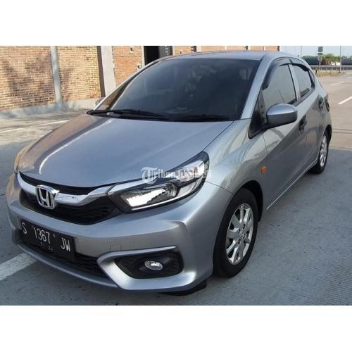 Mobil Honda New Brio E Satya 2018 Grey Manual Bekas Tangan 1 - Surabaya