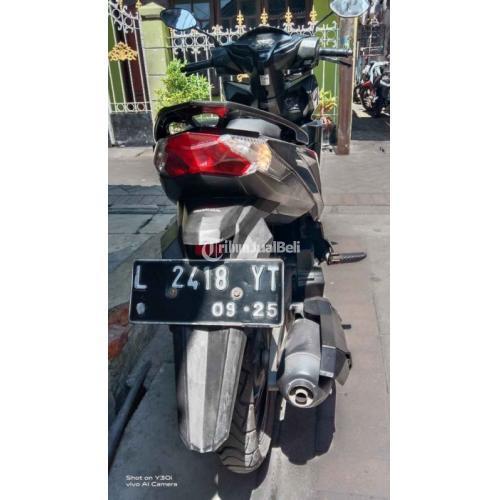 Motor Honda Vario 125 CBS 2015 Hitam Bekas Surat Lengkap - Surabaya