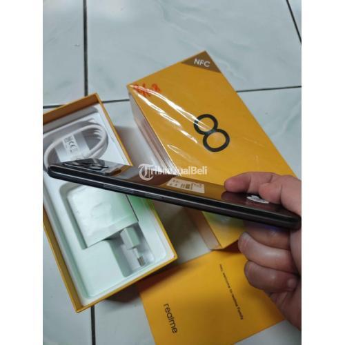 HP Realme 8 Ram 8/128GB Baterai Awet 5000mAh Bekas Fullset - Yogyakarta