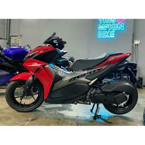 Motor Yamaha AEROX 155 Non Abs 2021 ( Promo Kredit ) - Jakarta Selatan