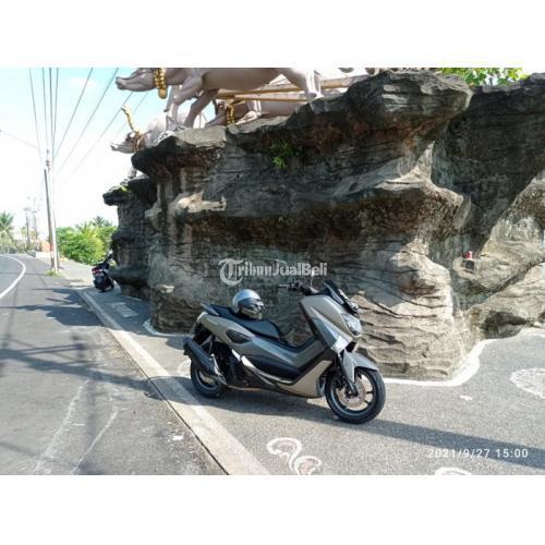 Motor Yamaha NMAX Non ABS 2015 Grey Bekas Tangan 1 Mesin Normal - Jembrana