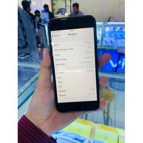 HP iPhone 8 64GB Black Bekas Fullset Mulus No Minus Bergaransi - Solo