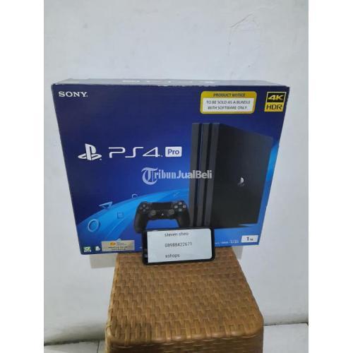 Konsol Game Sony Ps4 Pro Seri 7218B 1TB Mulus Like New Fullset Bekas - Jakarta