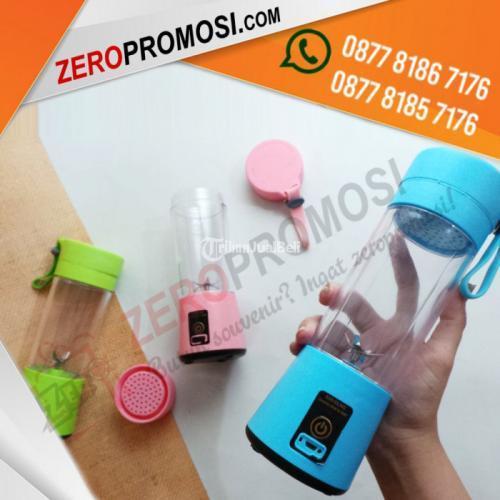 Produk Tumbler Multifungsi Electric Juicer Cup Mini Bisa Cetak Logo - Tangerang