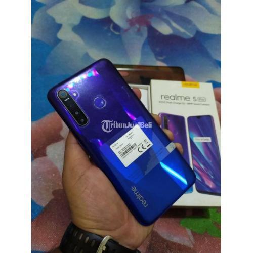 HP Realme 5 Pro Fullset Ram 4/128GB Bekas Baterai Awet Nego - Padang