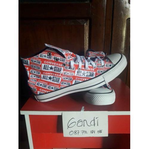 Sepatu Converse CT AS HI Multi Graphic Original BNIB Size 45 - Jogja