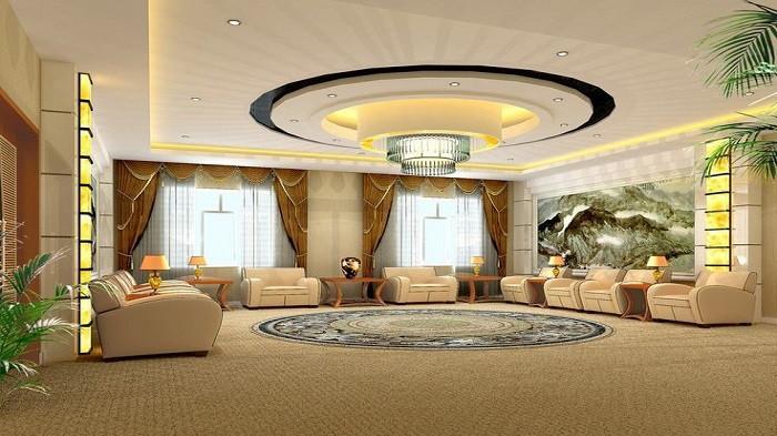5 Ide Desain Plafon Ruang Keluarga yang Keren dan Lebih Nyaman