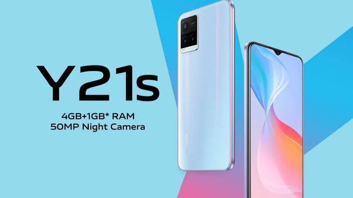 Dibanderol Rp 2 Jutaan, Cek Spesifikasi HP Vivo Y21s Dibekali Kamera 50MP