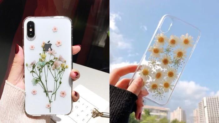 Ini Cara Membuat Case HP Pakai Bunga Kering,Ternyata Ini Bisa Jadi Ide Jualan Kekinian