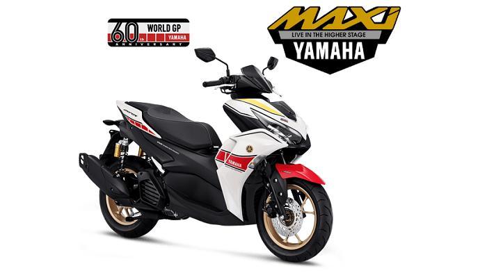 Miliki Varian Baru Edisi World GP 60th Anniversary, Cek Harga All New Yamaha Aerox Terbaru OTR Jakarta