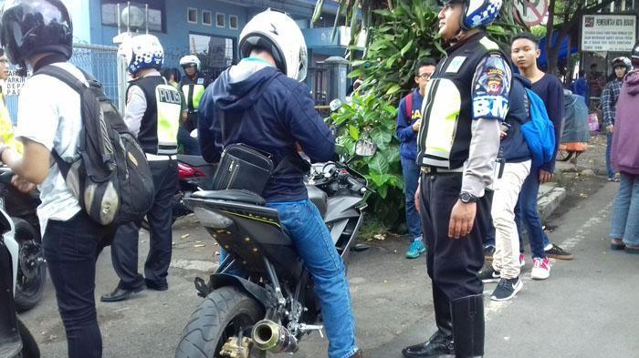 Resmi, Mulai Sekarang Polisi Tak Boleh Sembarangan Tilang Knalpot Racing