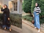 Rekomendasi Ide Pakai Kulot Jeans Kekinian Ala Selebgram Pasti Makin Kece