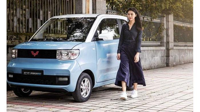 Cek Harga Mobil Wuling Mini EV yang Setara Motor Matic 250cc, Apakah Siap Dijual ?