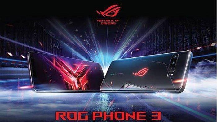 Cek Harga Asus ROG Phone 3 Memori 8GB/128GB Pertengahan September 2021