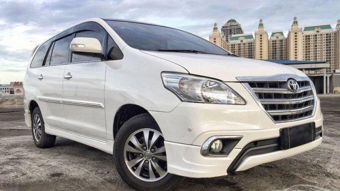 Cek Harga Mobil Toyota Kijang Innova Bensin Bekas Tahun 2007 Per September 2021