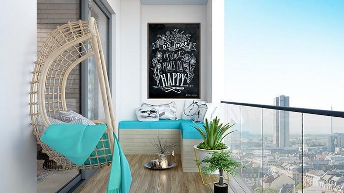 Tips dan Trik Dekorasi Balkon Rumah yang Sempit Jadi Ruang Santai Instagramable